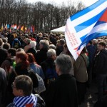 Kundgebung auf dem ehemaligen Appellplatz