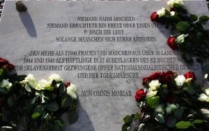 Gedenkstein für die Frauen von Buchenwald