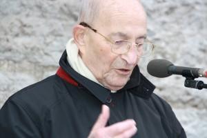 Bertrand Herz, Präsident des Internationalen Komitees Buchenwald-Dora und  Kommandos