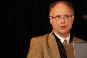 Dominique Durand bei seiner Ansprache